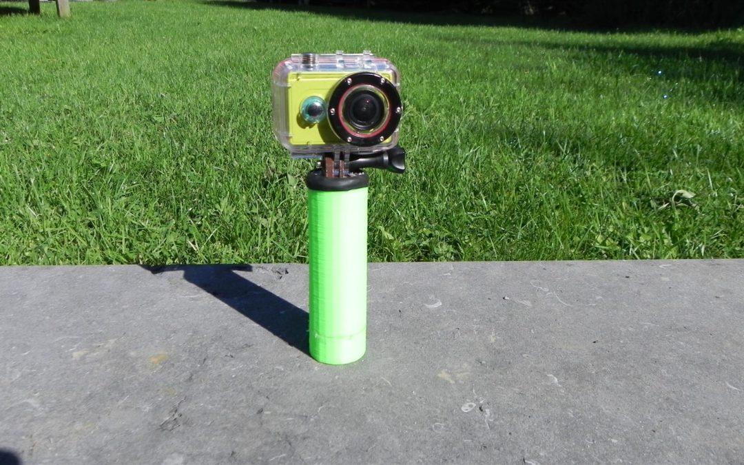 Création d'un flotteur pour GoPro