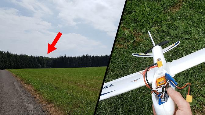 Sauver un avion avec un drone