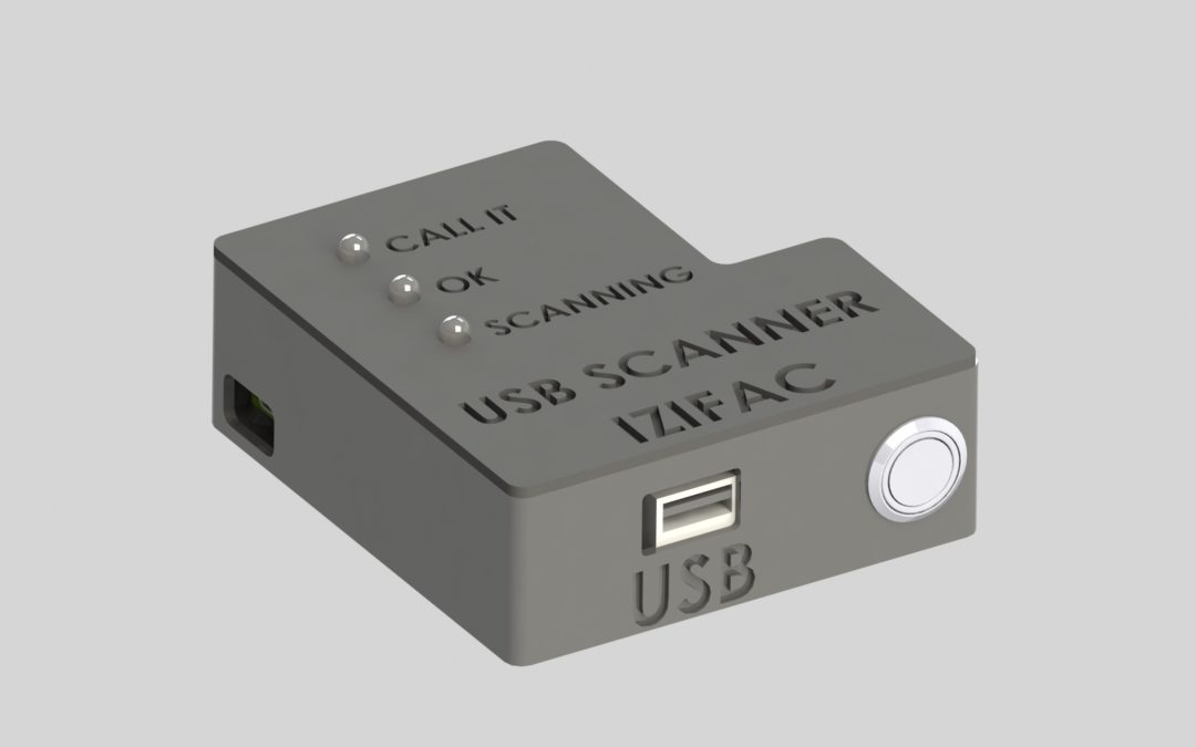 Créer un scanner de clé usb avec un Raspberry