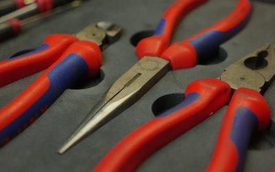 Création d'inserts pour ranger ses outils dans sa servante